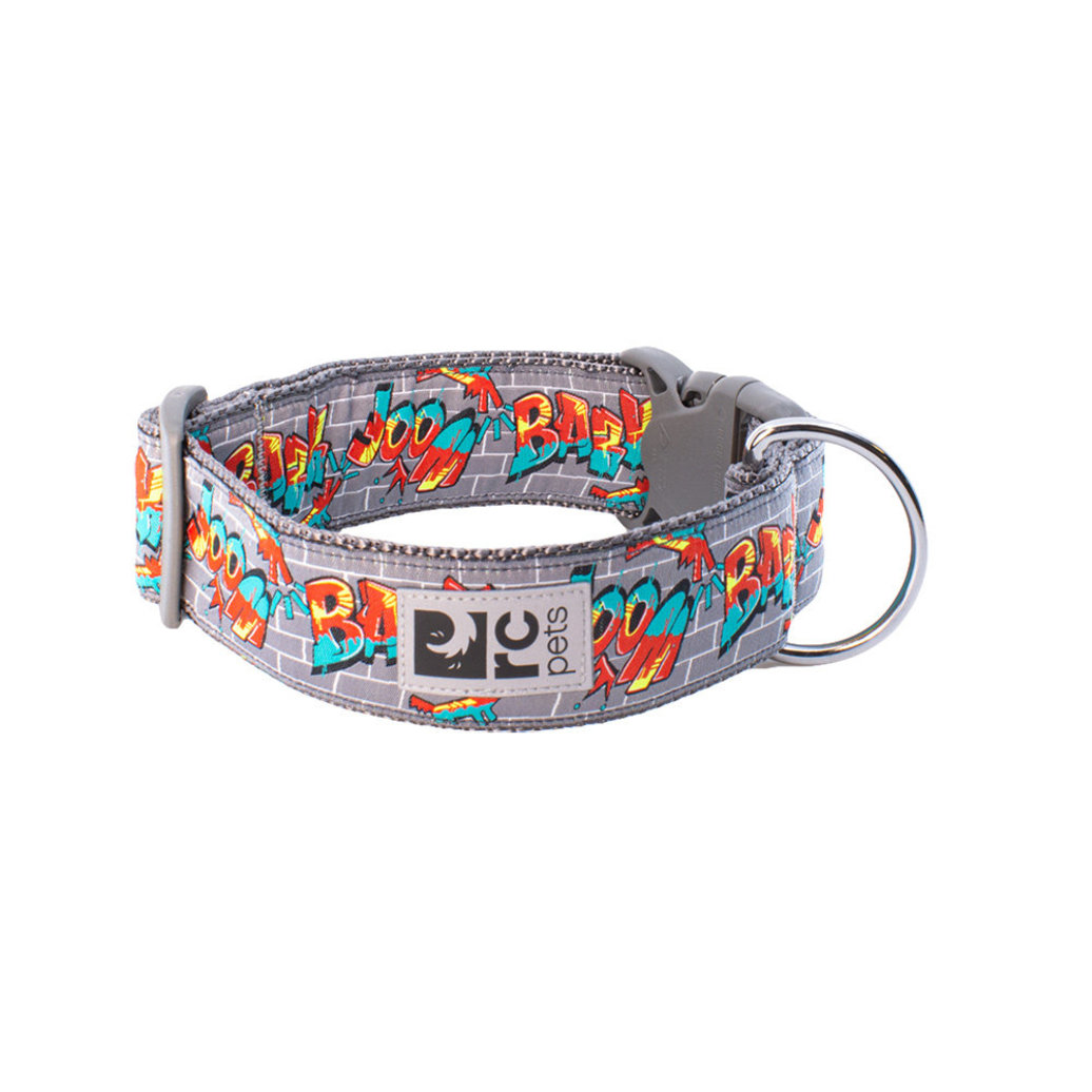 View larger image of Wide Clip Collar - Graffiti