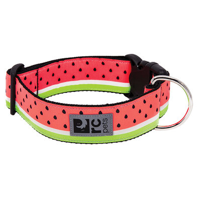 Wide Clip Collar - Watermelon