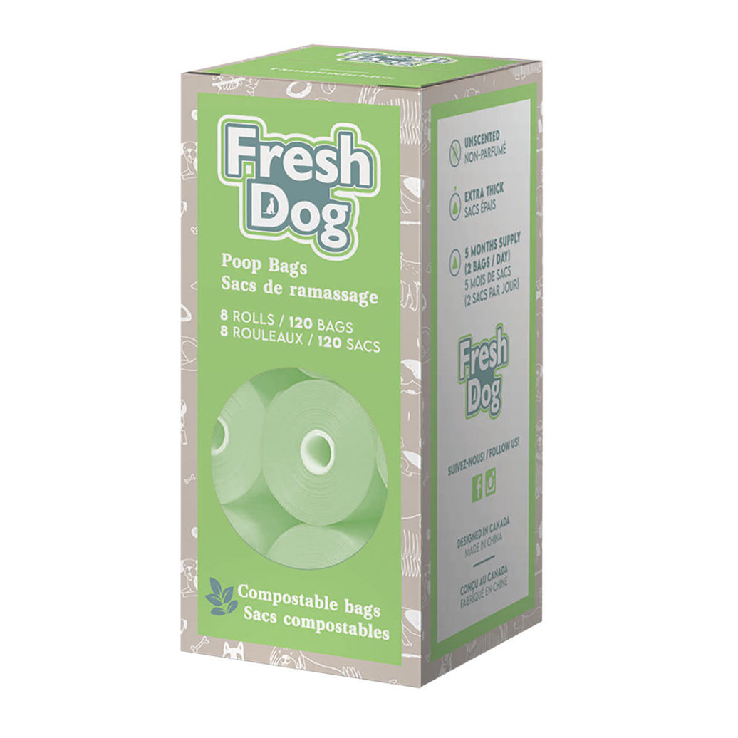 View larger image of Ren's, Poop Bags - Gray - Compostable