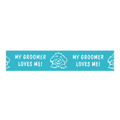 Ribbon - Groomer Love Turq