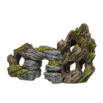 Rock and Bark Ornament - Small