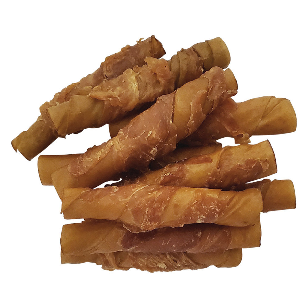 View larger image of Chicken Wrapped Porkhide Twists - 10pk