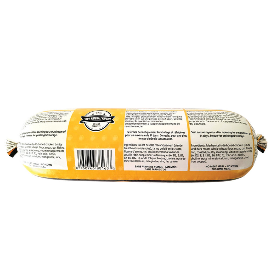 View larger image of Dog Food, Semi-Soft Premium Roll, Chicken