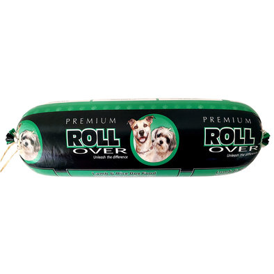 Dog Food, Semi-Soft Premium Roll, Lamb & Rice