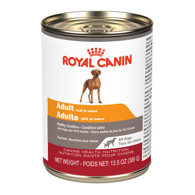 Canine Health Nutrition Adult Loaf in Sauce