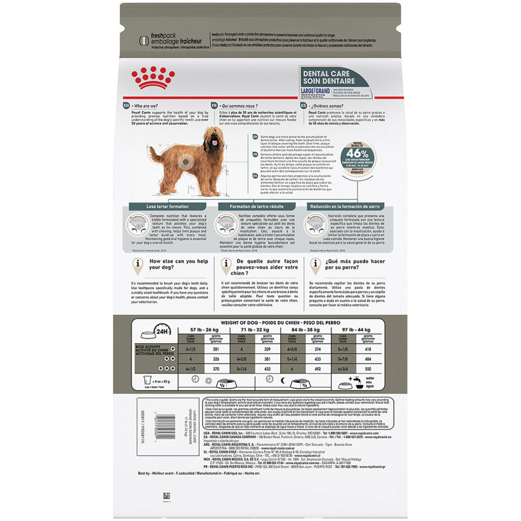 View larger image of Canine Care Nutrition Dental Large Dog Food