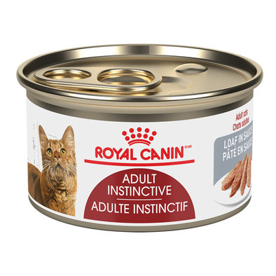 Feline Health Nutrition Adult Instinctive Loaf In Sauce