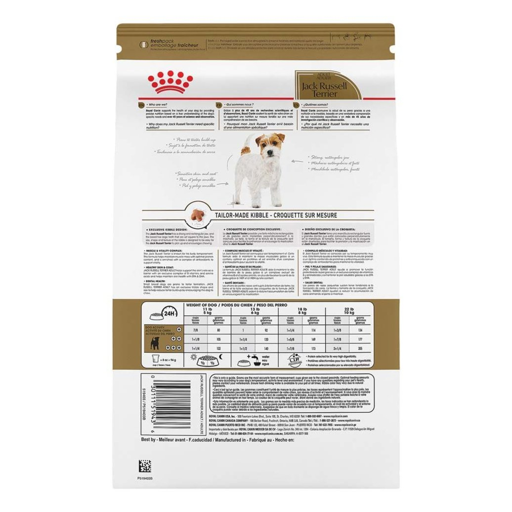 View larger image of Breed Health Nutrition Jack Russell Terrier Adult