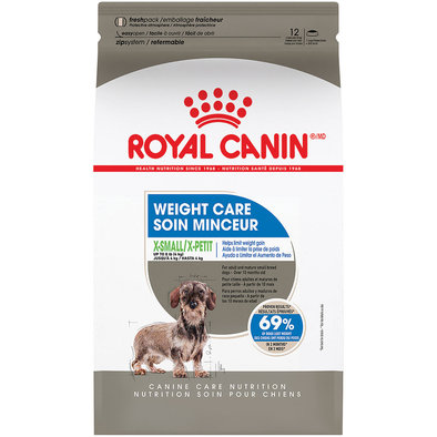 Canine Care Nutrition Adult X-Small Weight Care