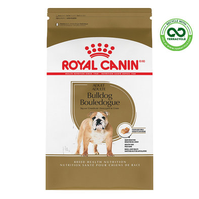 Dry Dog Food, Bulldog