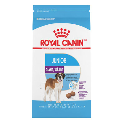 Size Health Nutrition Giant Junior Dog Food