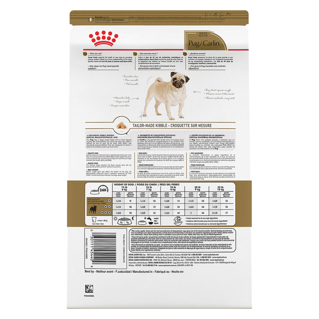 View larger image of Breed Health Nutrition Pug Adult