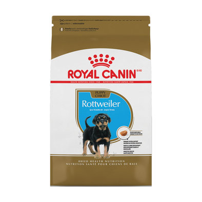 Breed Health Nutrition Rottweiler Puppy