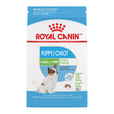 Size Health Nutrition X-Small Breed Puppy
