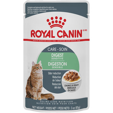 Feline Care Nutrition Digest Sensitive Adult Chunks in Gravy