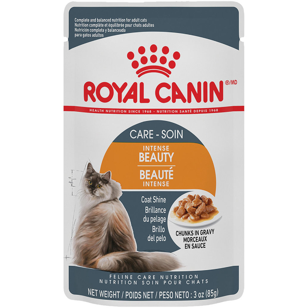 View larger image of Feline Care Nutrition Adult Intense Beauty Chunks in Gravy