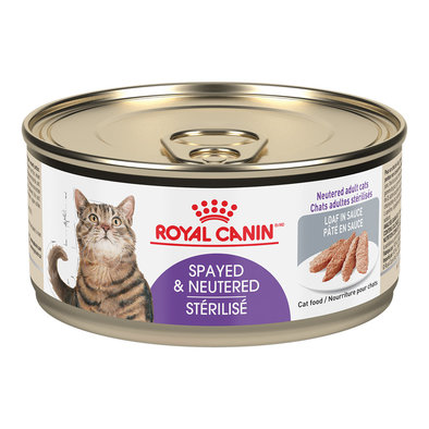 Feline Health Nutrition Spayed/Neutered Loaf in Sauce