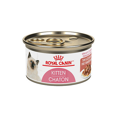Feline Health Nutrition Kitten Thin Slices In Gravy