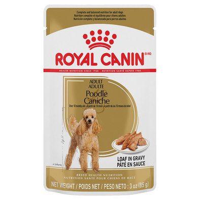 Pouch, Adult - Poodle, Loaf in Gravy - 85 g