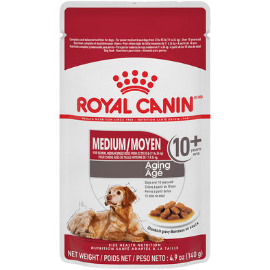 Size Health Nutrition Medium Aging 10+ Dog