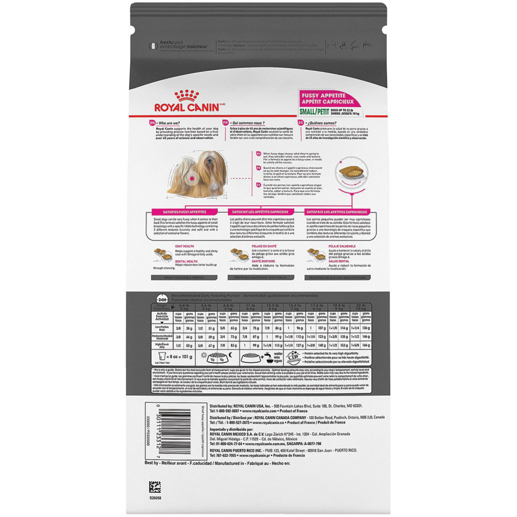 View larger image of Canine Care Nutrition Small Breed Fussy Appetite - 1.58 kg