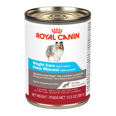 Canine Health Nutrition Weight Care Loaf In Sauce