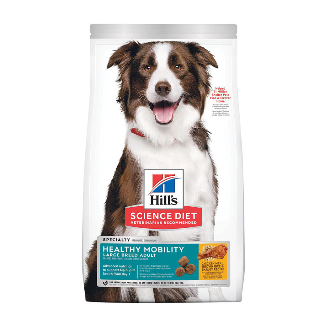 View larger image of Adult Healthy Mobility Large Breed Chicken Meal, Rice & Barley Dry Dog Food