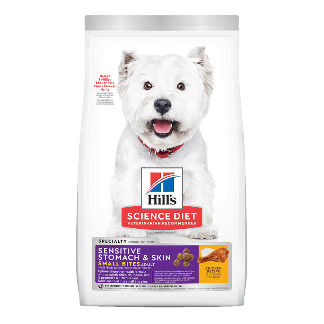 View larger image of Adult Sensitive Stomach & Skin Small Bites Chicken Recipe Dry Dog Food