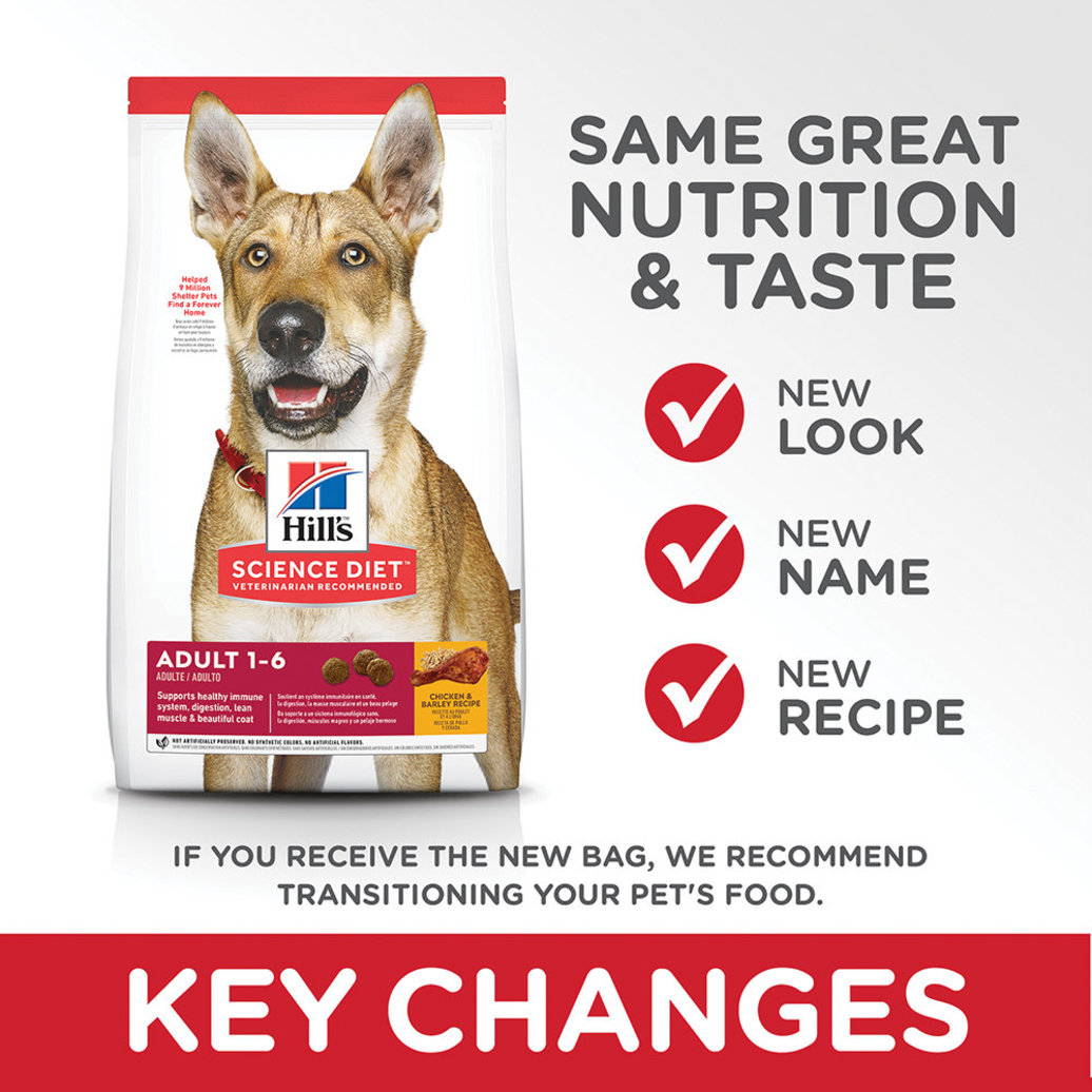 View larger image of Adult Chicken & Barley Recipe Dry Dog Food