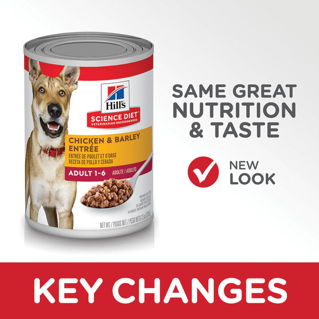 View larger image of Adult Chicken & Barley Canned Dog Food, 368 g