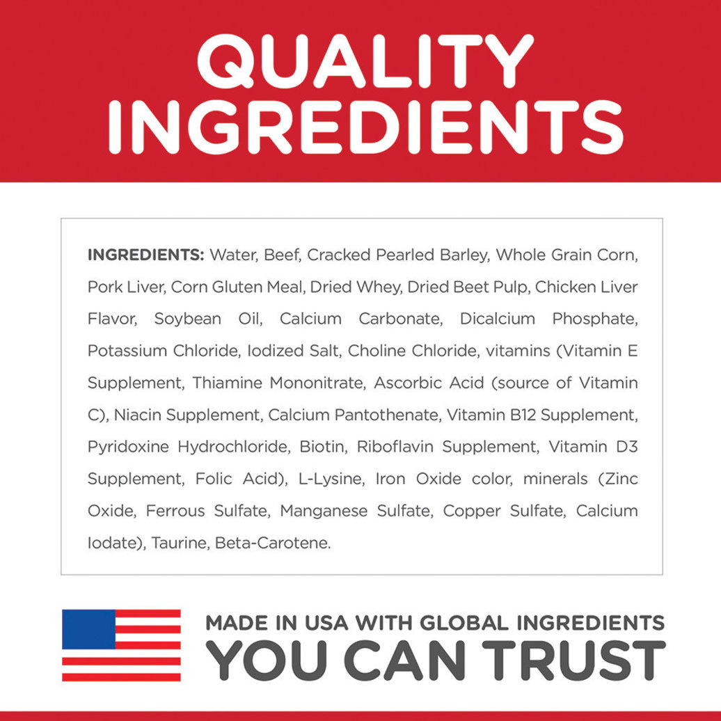 View larger image of Adult 7+ Beef & Barley Canned Dog Food, 370 g