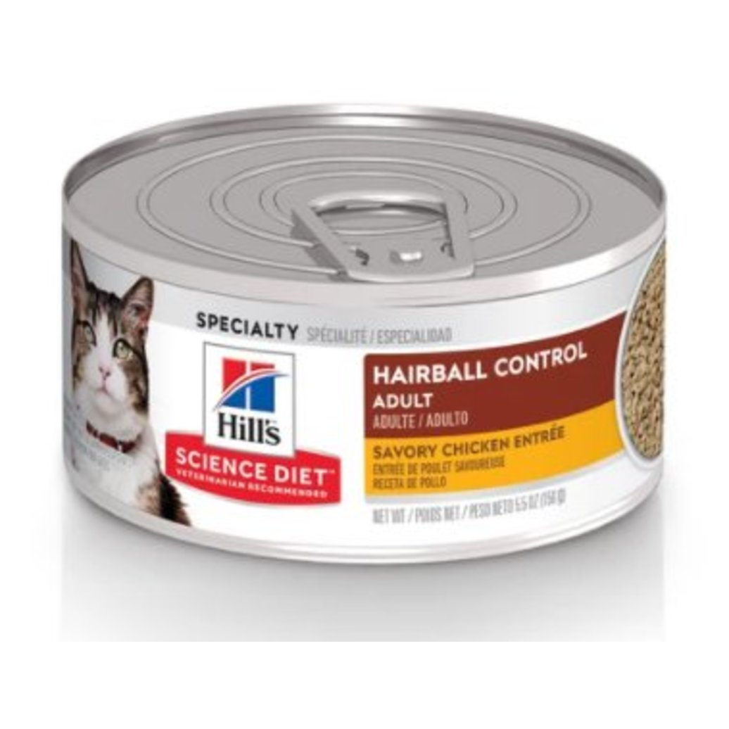 View larger image of Feline Adult - Hairball Control - Savoury Chicken - 156 g