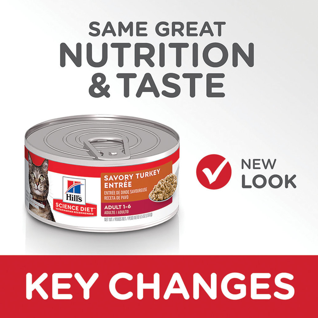 View larger image of Adult Savory Turkey Canned Cat Food, 156 g