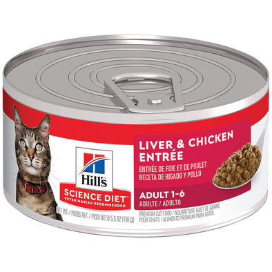 Feline Can Liver & Chicken Entrée - 5.5 oz