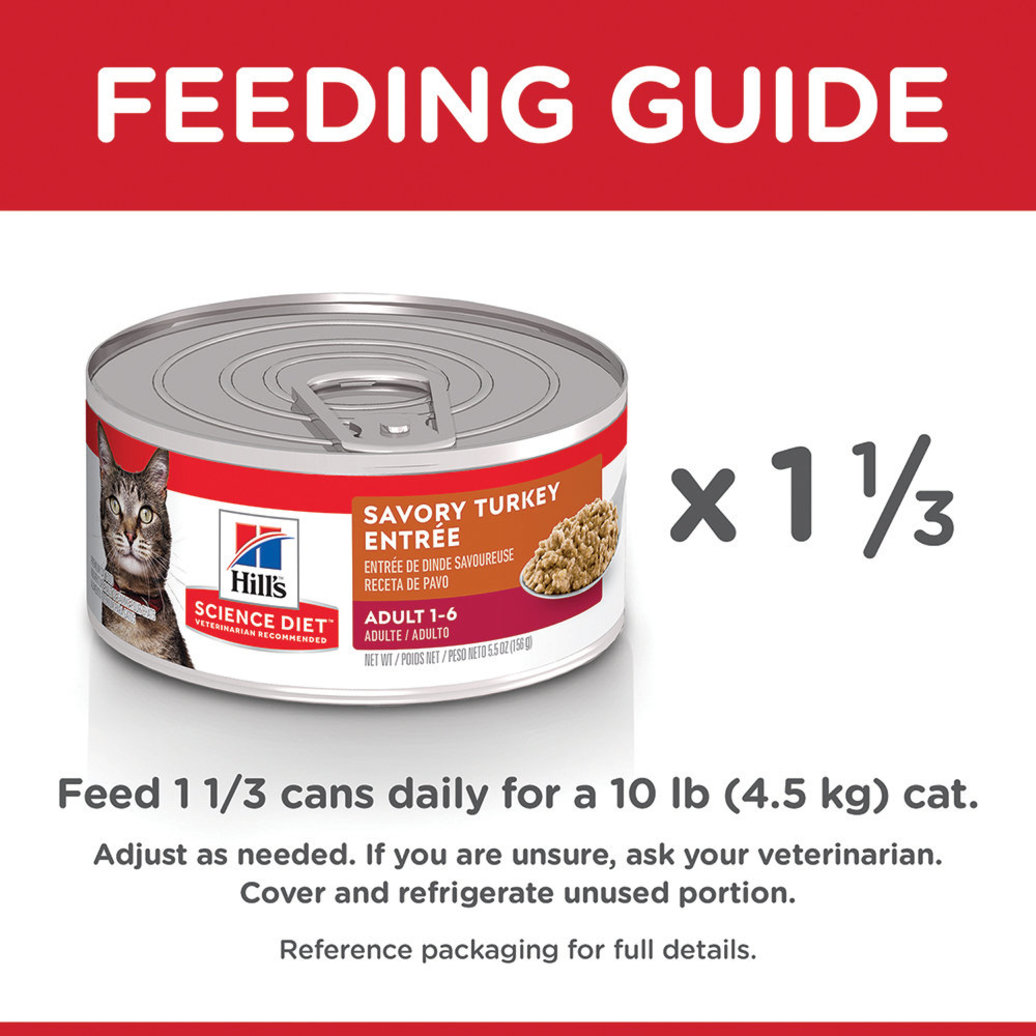 View larger image of Adult Turkey & Liver Canned Cat Food, 156g