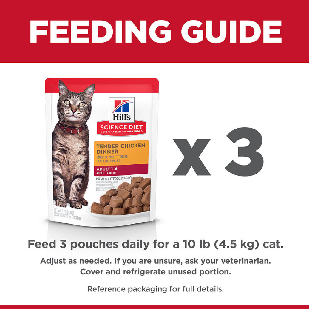 View larger image of Adult Tender Chicken Dinner Wet Cat Food - 80 g