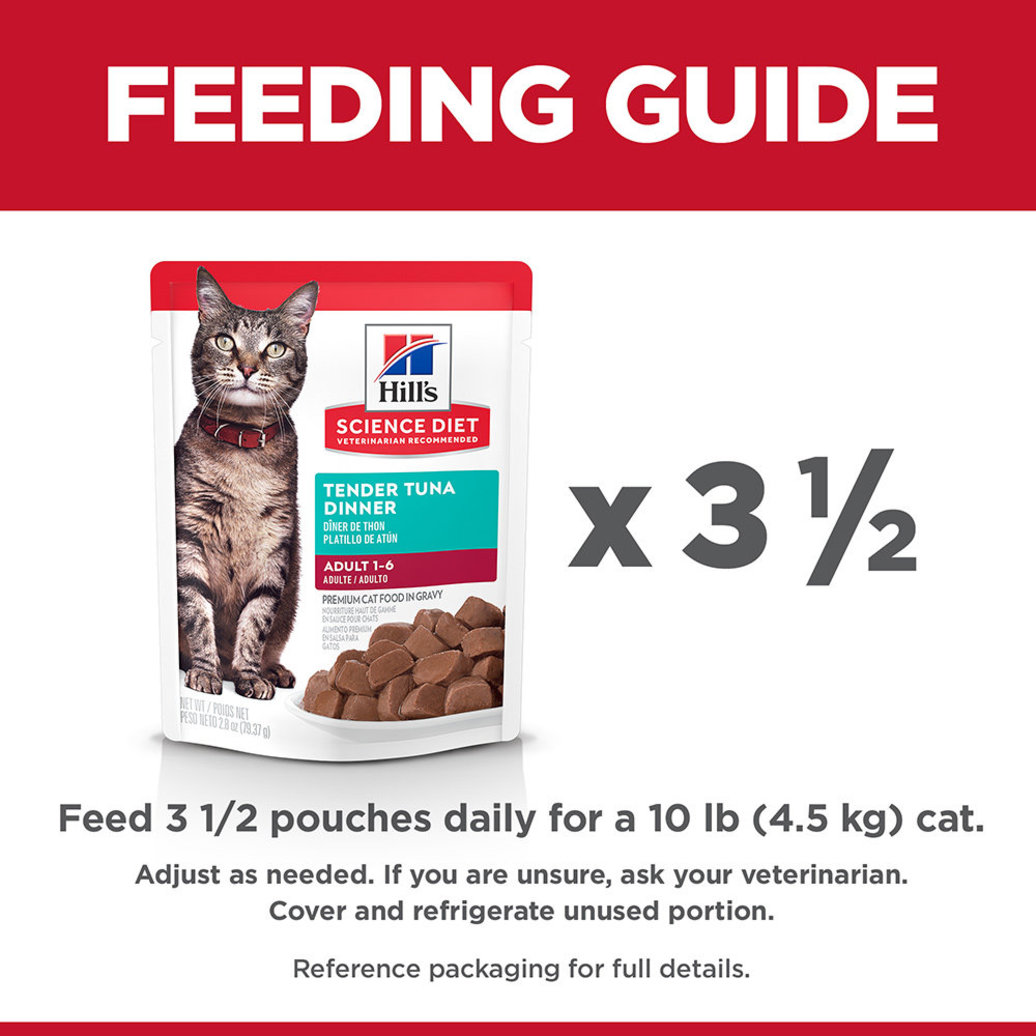 View larger image of Adult Tender Tuna Dinner Wet Cat Food - 80 g