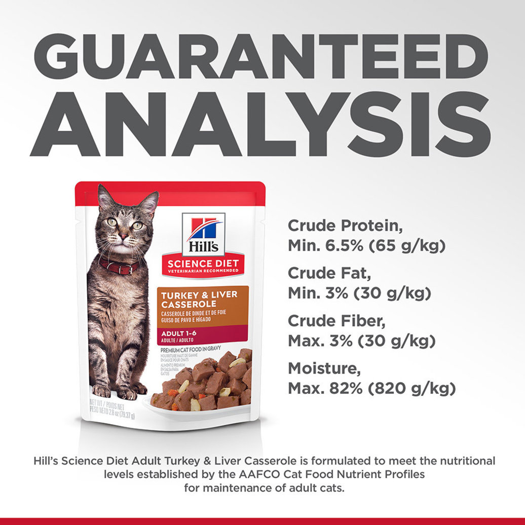 View larger image of Adult Turkey & Liver Casserole Wet Cat Food - 80 g