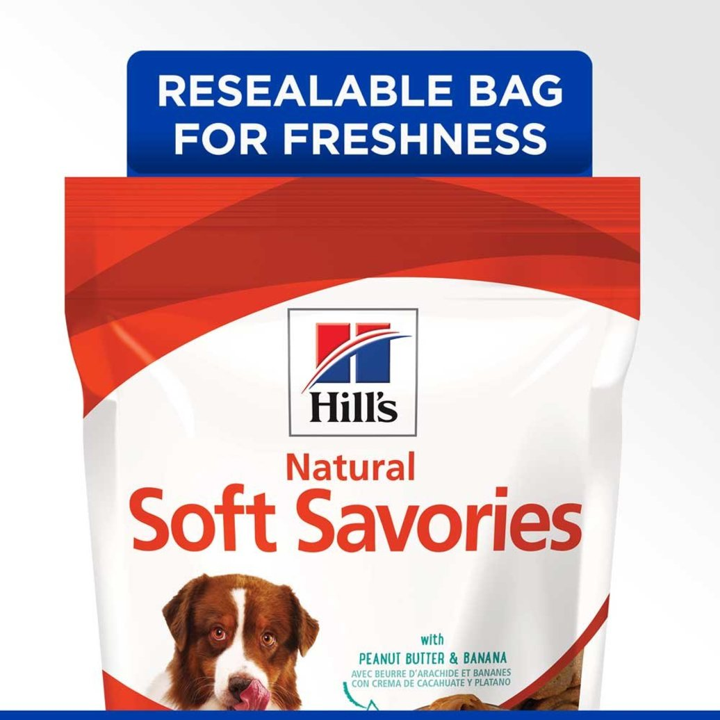 View larger image of Soft Dog Treats, Soft Savories with Peanut Butter & Banana Dog Snacks