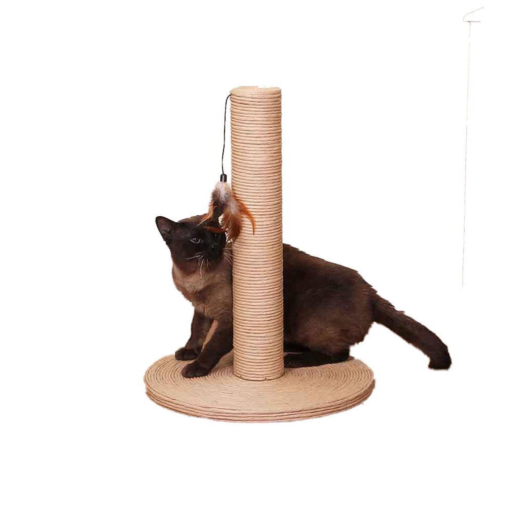 View larger image of Sea Grass Scratch Post w/ toy