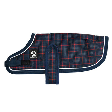 Glacier Coat - Navy Plaid