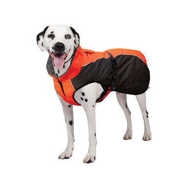 K9 Chinook Dog Coat - Neon Orange/Grey