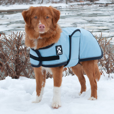 K9 Tundra Dog Coat - Dream Blue