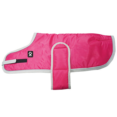 Tundra Coat - Hot Pink w/ Light Grey