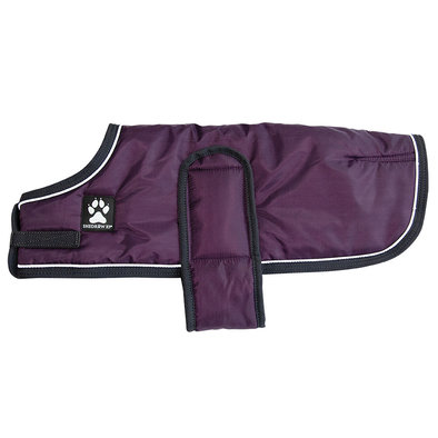 Tundra Coat - Plum Perfect w/ Charcoal
