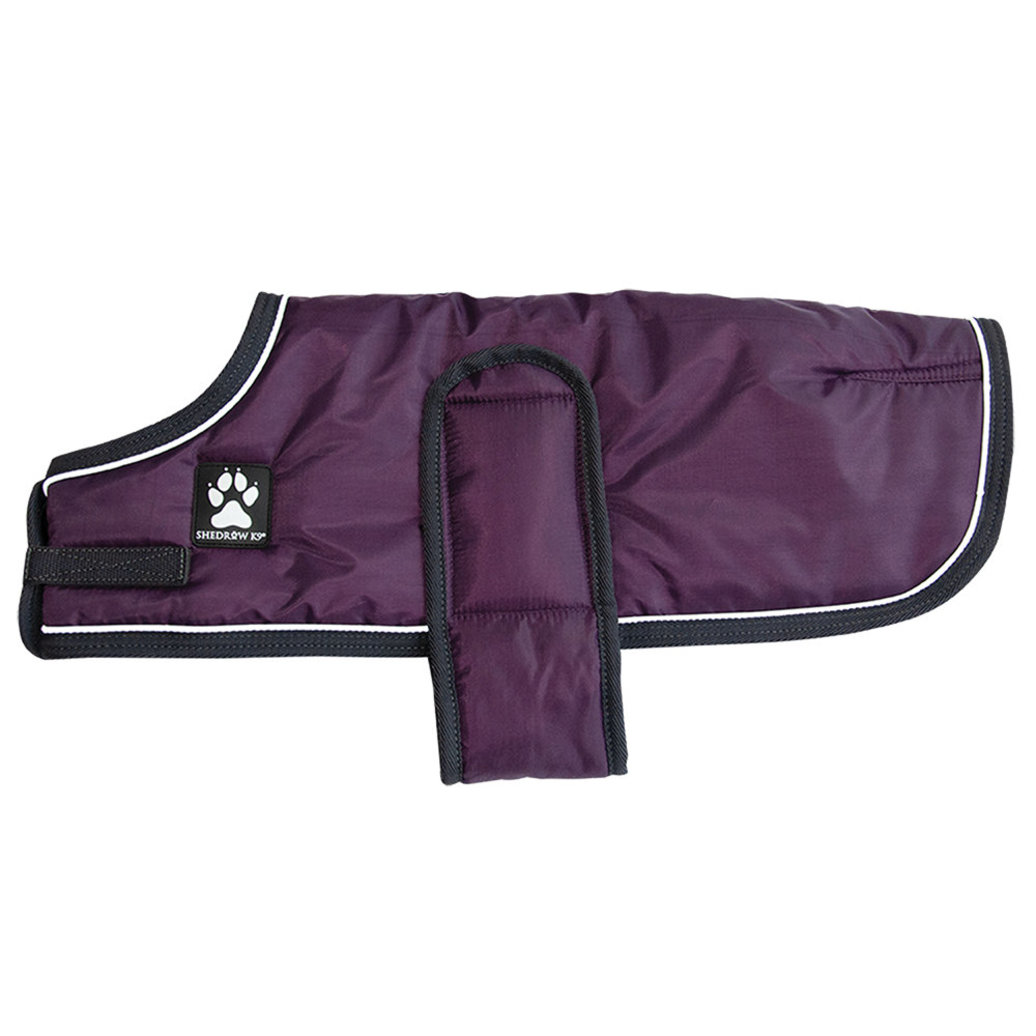 View larger image of Tundra Coat - Plum Perfect w/ Charcoal