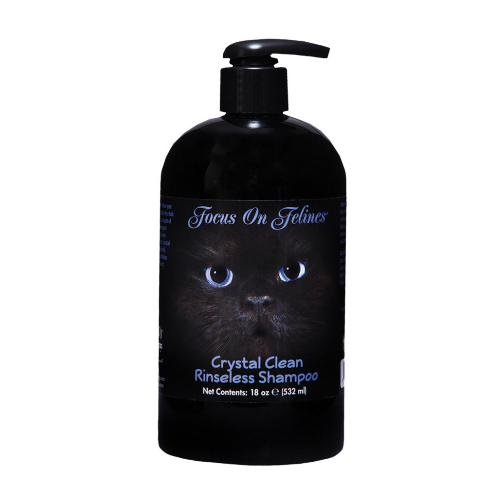 View larger image of FOF, Crystal Clean No Rinse Shampoo