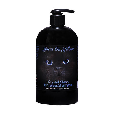 FOF, Crystal Clean No Rinse Shampoo