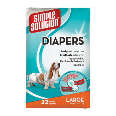 Disposable Diapers - 12 Pk