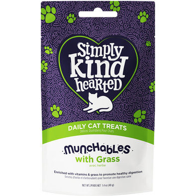 Feline Munchables with Grass - 40 g
